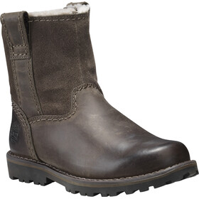 Timberland Asphalt Trail Warm-Lined Pull-On Youth Brindle Saddleback Full-Grain